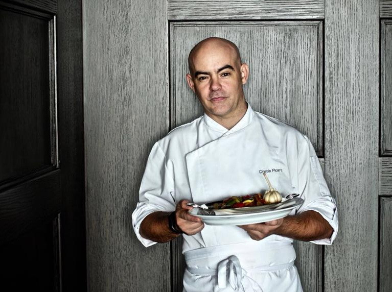 Le chefChristia Nou Picard de la Brasserie louis