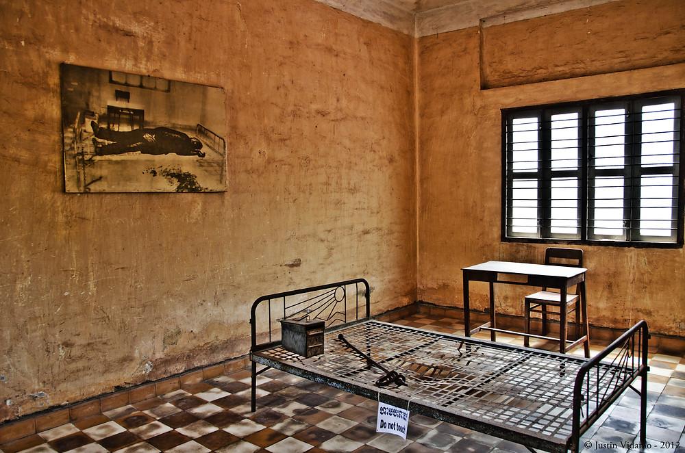Cellule de Tuol Sleng