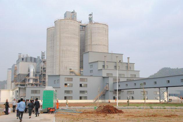 Inauguration de la cimenterie de Chip Mong Insee Cement Corporation