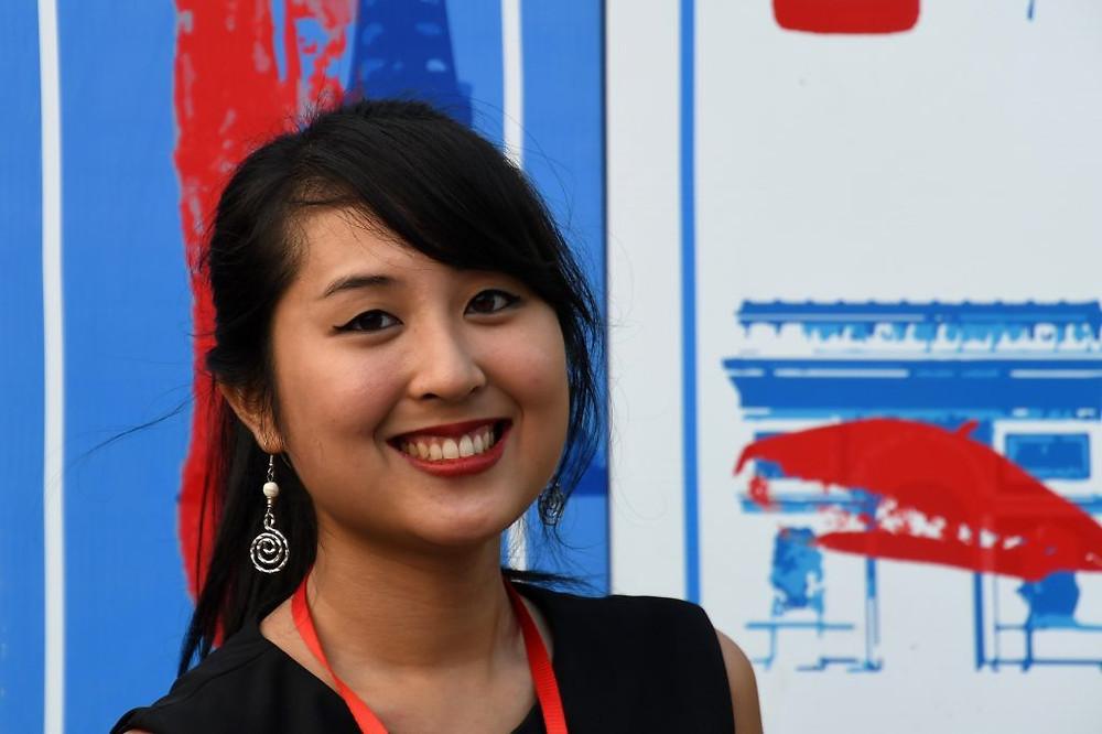 Céline Troeung, responsable de la prospection et des relations avec les entreprises