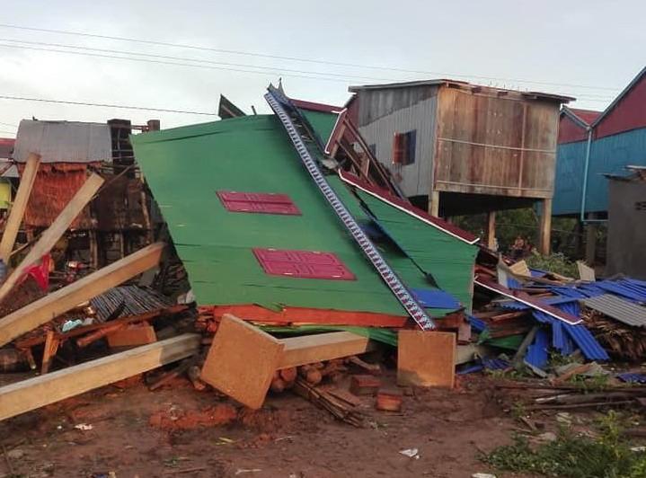 Plus de 3 000 habitations endommagées par les tempêtes