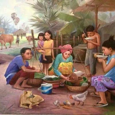Contes et légendes du Cambodge : Histoire du fantôme en bouteille