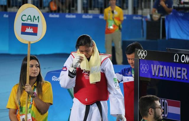 Jeux Olympiques : La déception de Sorn Seavmey