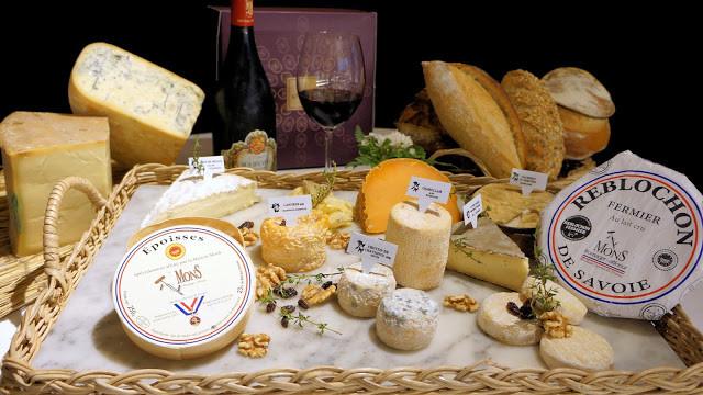 La gamme des meilleurs fromages Mons disponible chez Khéma à Phnom Penh
