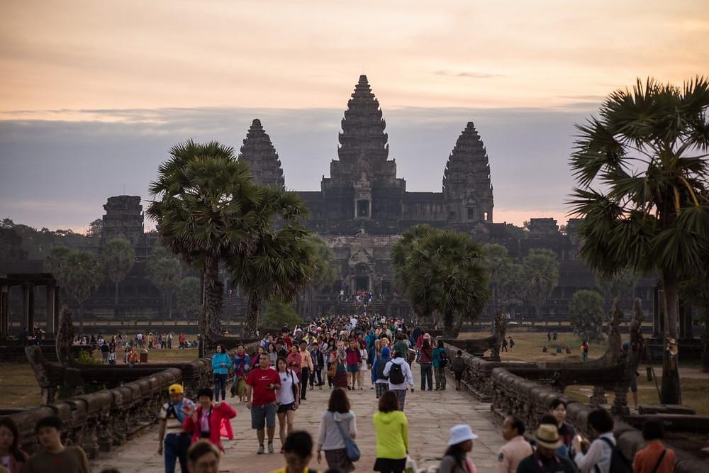 En dix ans, la fréquentation des temples a été multipliée par cinq. Photographie Alex Berger