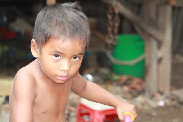 Enfant du bidonville. Photo KiamProd