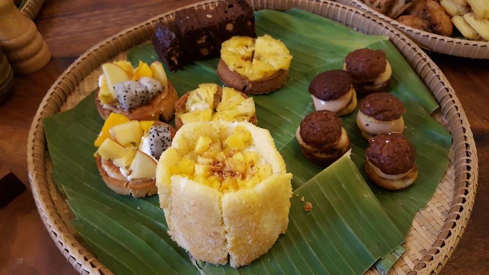Échantillons des pâtisseries de Sweet Lab (Photo : Pascal Médeville)