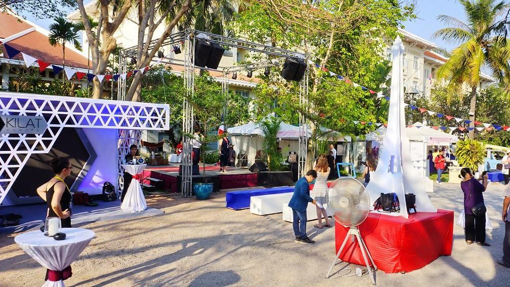 La Semaine Française de Siem Reap, un évènement bien représentatif du dynamisme des Français dans cette ville.