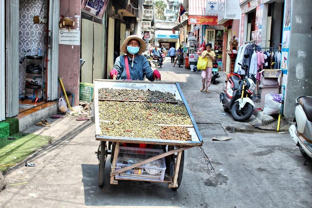 Vendeuses de coquillages