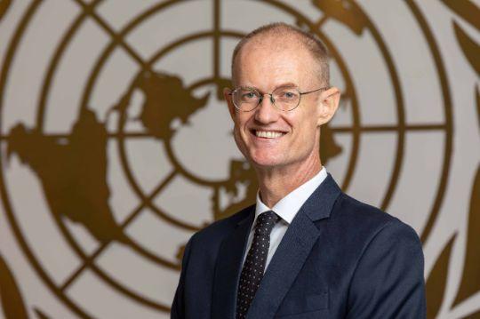Nick Beresford, représentant résident du PNUD au Cambodge