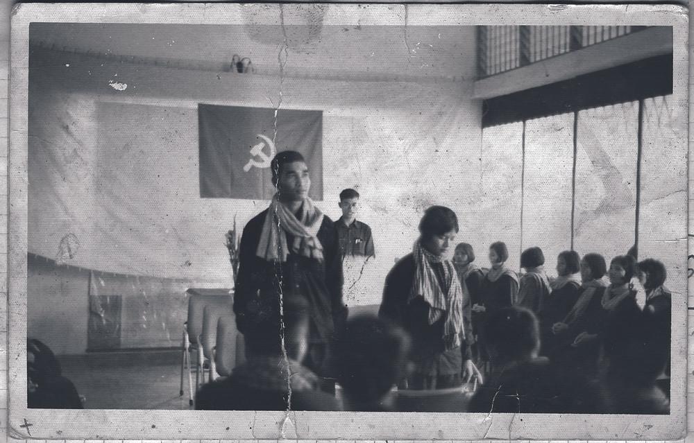 Mariage forcé sous les Khmers rouges. Image DC Cam