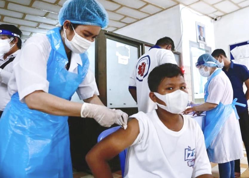 Vaccination des jeunes. Photo AKP