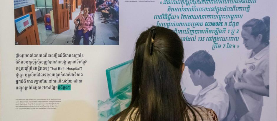 Siem Reap & Exposition : ECOMORE, comment lutter contre les maladies ré-émergentes