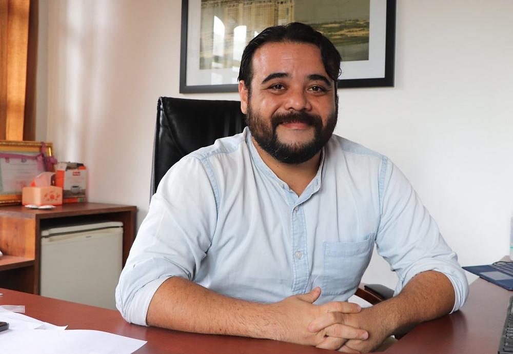 Jérôme Luciani, 34 ans, directeur du développement commercial chez LBL International