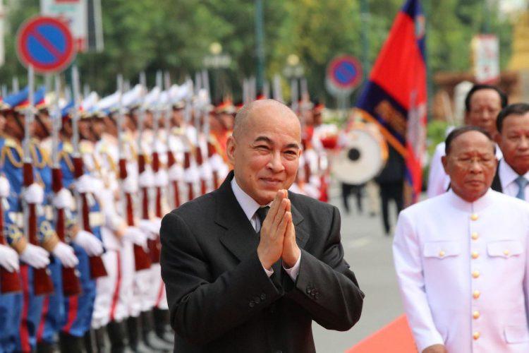 Sa Majesté Preah Bat Samdech Preah Boromneath Norodom Sihamoni, Roi du Cambodge