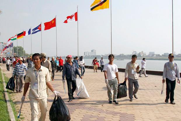 Journée de l'environnement à Phnom Penh