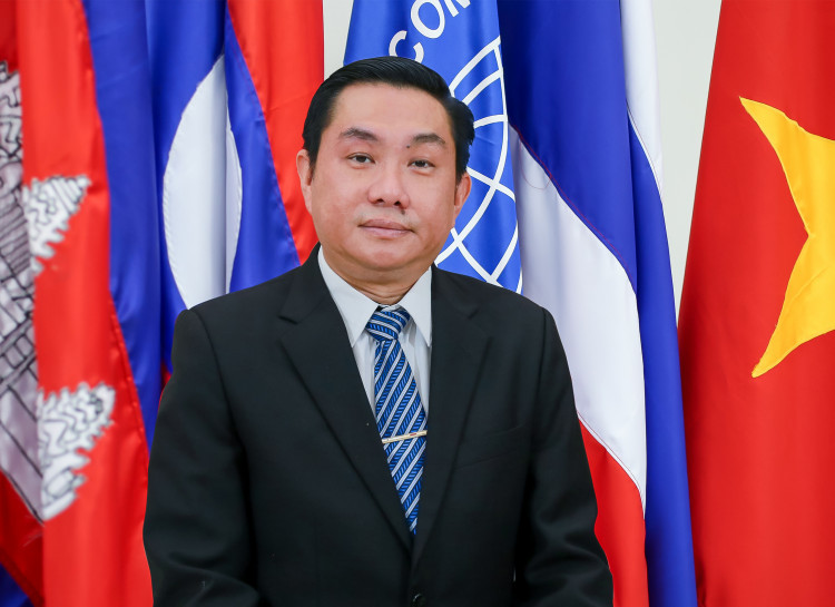 So Nam, chef de la gestion de l'environnement du Secrétariat de la MRC