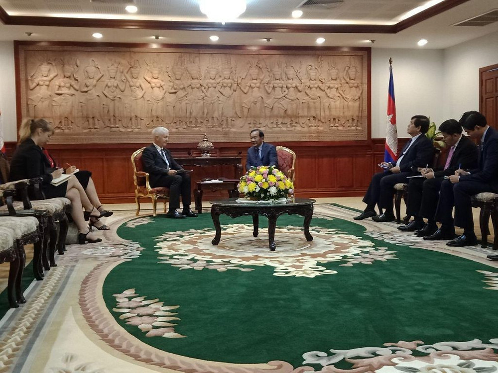 L'ambassadeur de Suisse au Cambodge, Ivo Siebber, l'a annoncé ce mercredi au ministre des Affaires étrangères, S.E. Prak Sokhonn.