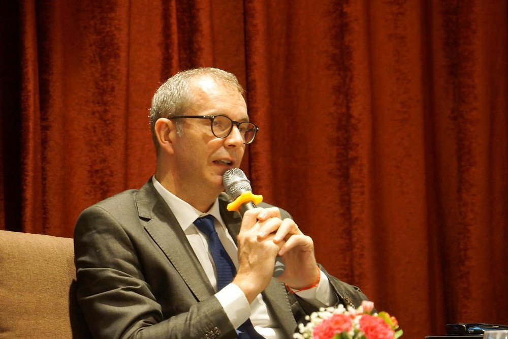 Eric Delobel, DG de Cambodia Airports