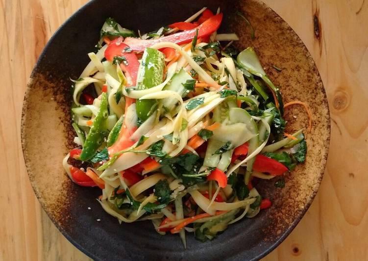 salade de légumes parfumée
