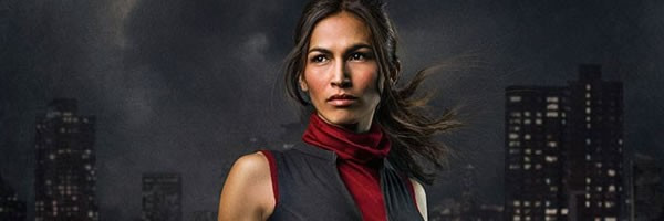 Élodie Yung est Elektra Natchios dans la deuxième saison de la série Daredevil