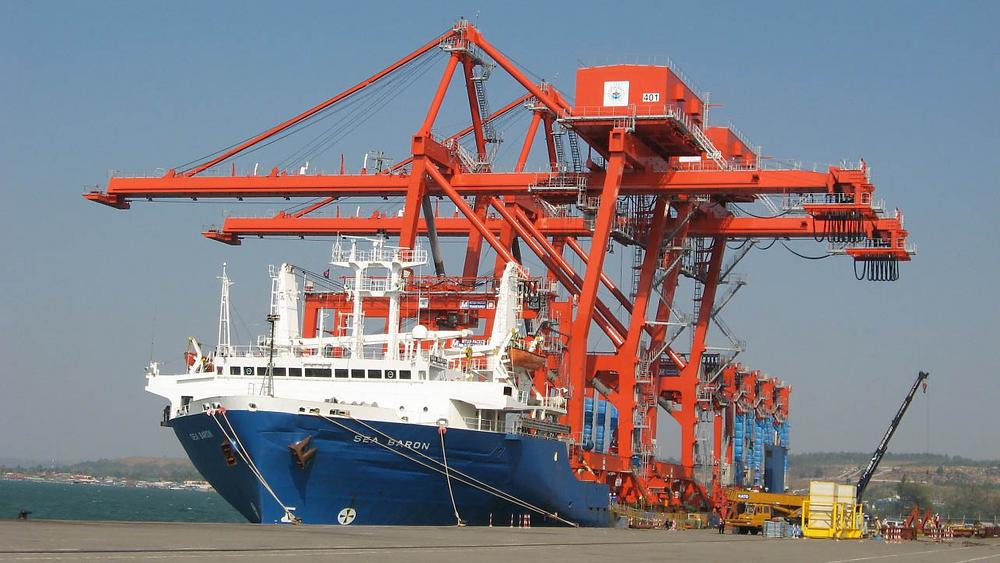 Port autonome de Sihanoukville. Photographie fournie