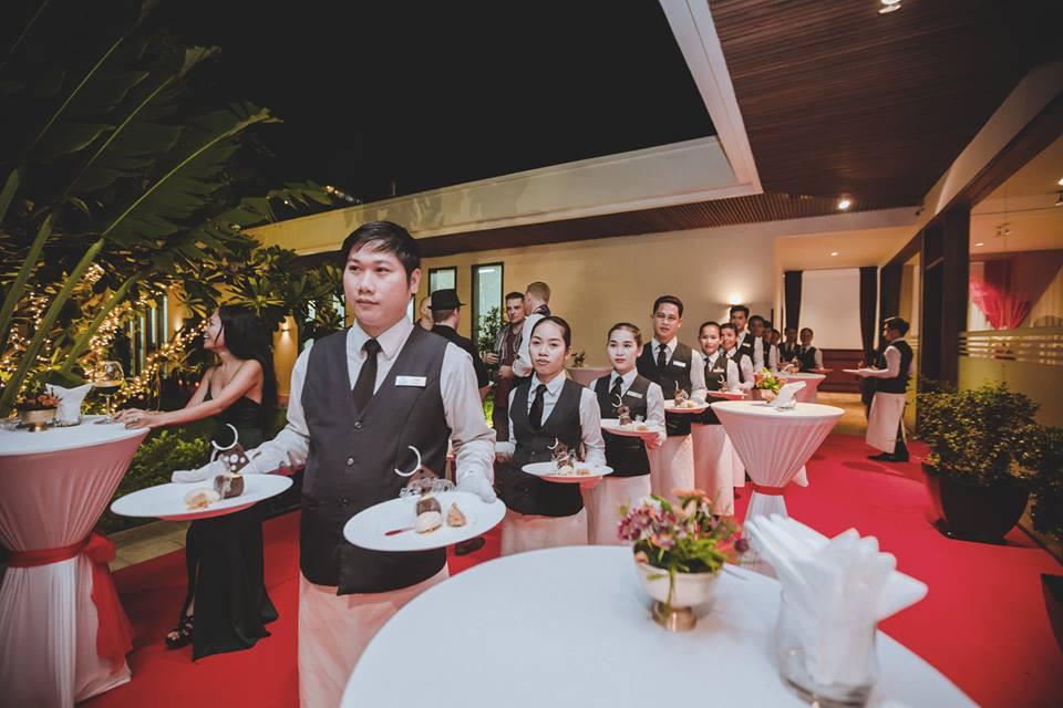 Deuxième Diner de la Chaîne des Rôtisseurs aui restaurant Topaz de Phnom Penh