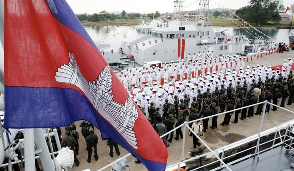 Base navale de Ream. Photographie Asia Time