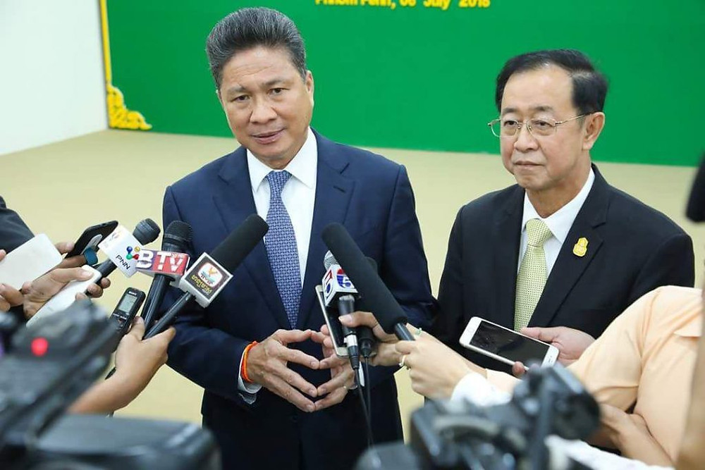 Sun Chanthol, ministre des Transports
