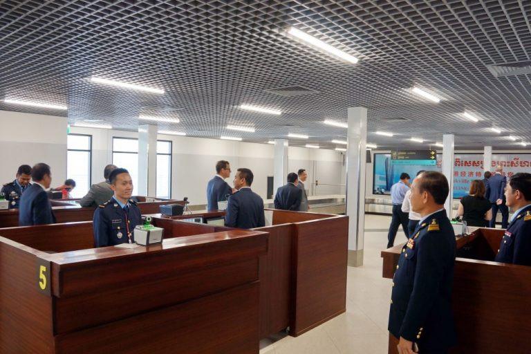 Terminal de l'aéroport de Sihanoukville