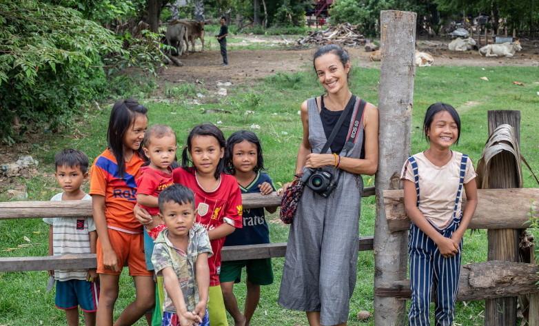 Dans la campagne cambodgienne