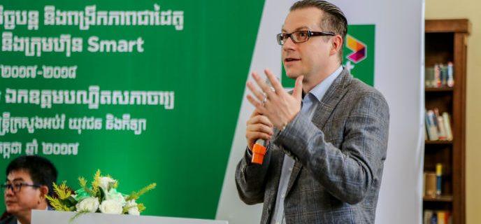 M. Hundt, directeur général de Smart Axiata Co Ltd