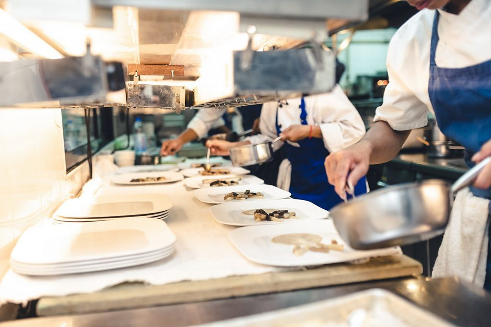 En cuisine au Topaz pour Good France