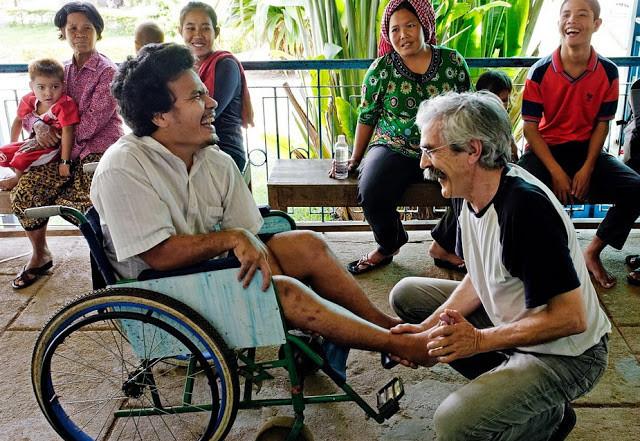 Jean-Baptiste Richardier, fondateur de Handicap International