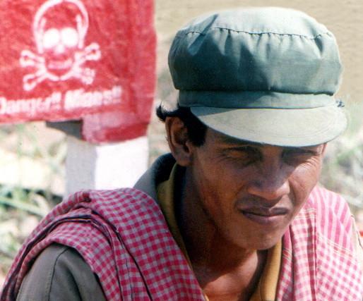Khmer Rouge. Photographie par F.Amat