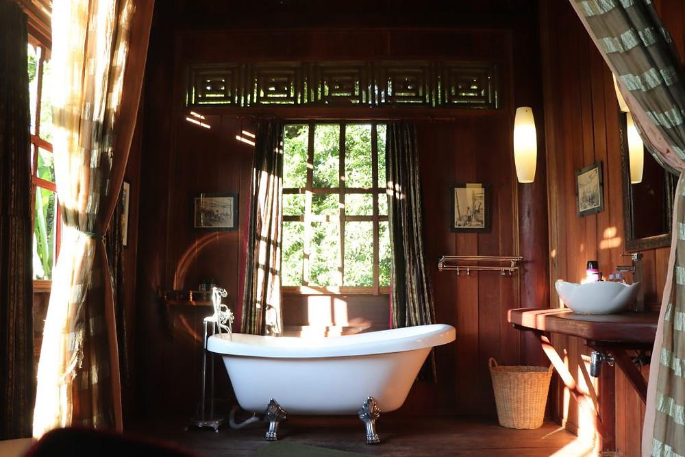 Salle de bain style aventure
