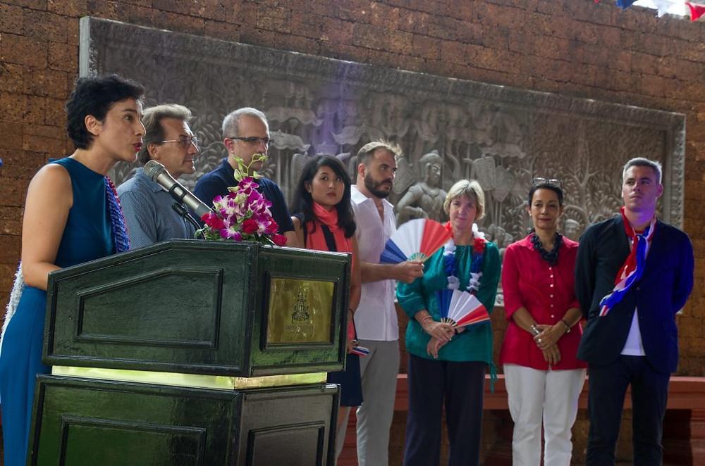 AuRaffles Grand Hotel D'Angkor pour cette édition 2018 de la Fête Nationale