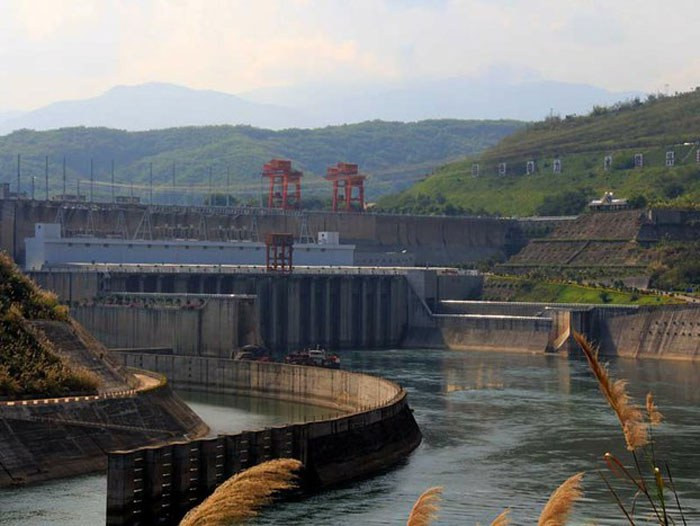barrage de Jinghong