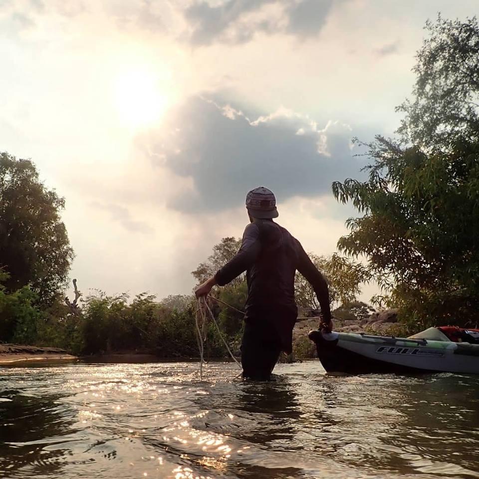 Aider Arthur Fourdraine à rejoindre les sources du Mékong