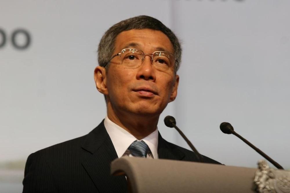 Premier ministre singapourien Lee Hsien Loong