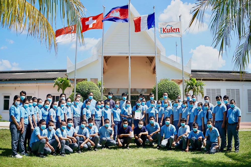 Lancée en 2013, l'Eau Kulen a permis la création de plus de 160 emplois durables