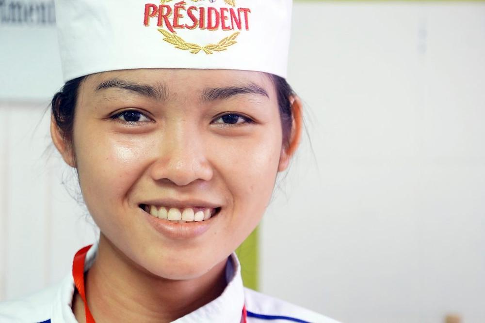 Lat Sreypov, 25 ans, originaire de Kampong Cham