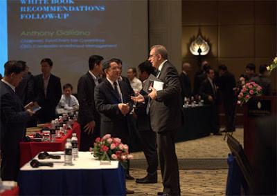 Premier forum sur la fiscalité professionnelle. Photographie Eurocham
