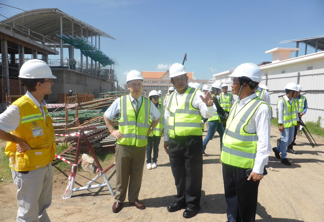 Photographie Ambassade de France au Cambodge