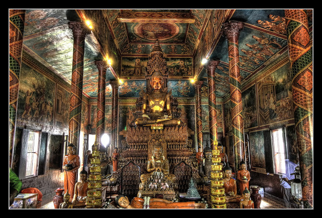 Cambodge - Le Wat Phnom (CC)