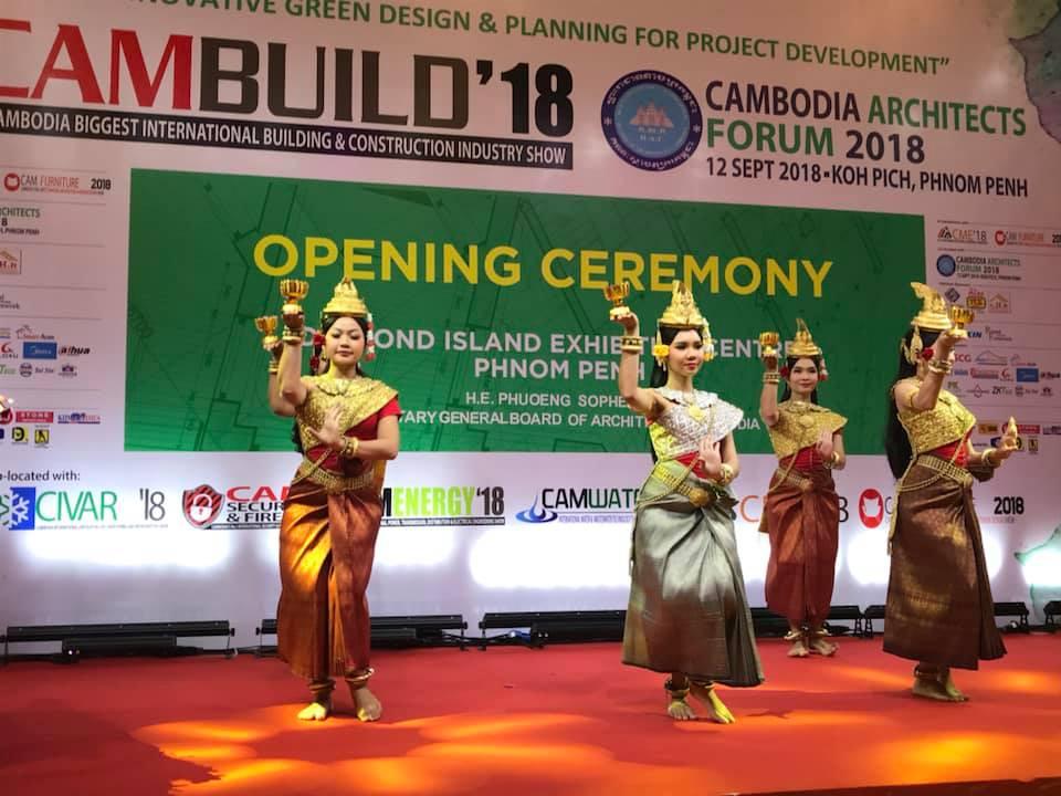 Phnom Penh accueille CAMBUILD 2018