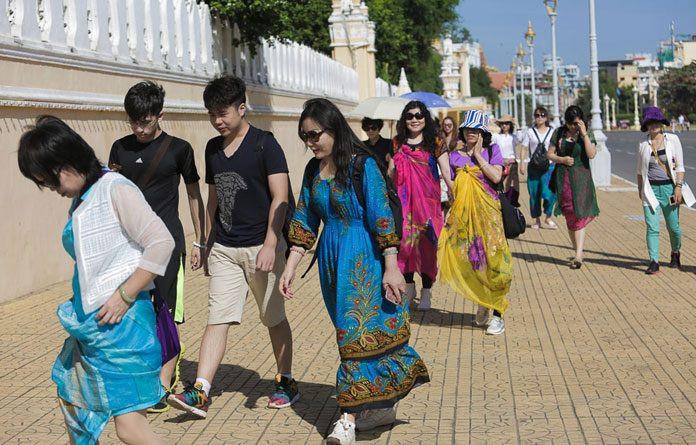 Les touristes étrangers au Cambodge en 2020 sont en majorité des Chinois