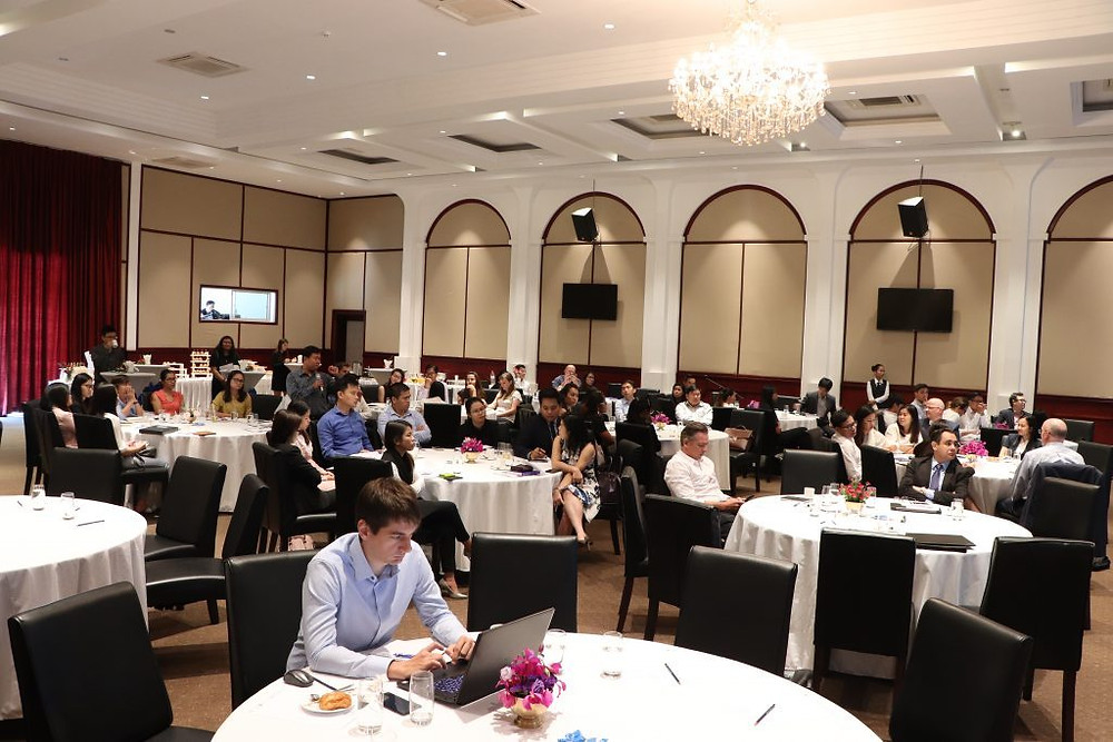 Déjeuner-débat organisé par Eurocham au Topaz