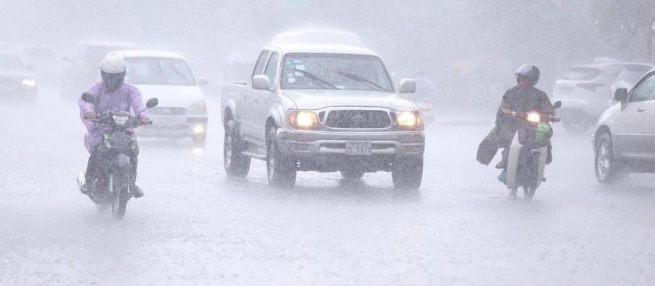 Cambodge & météo : Rafales et fortes pluies prévues en raison de 2 tempêtes tropicales