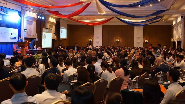 Plus de 500 personnes lors du Forum sur les Taxes à Phnom Penh en octobre 2017
